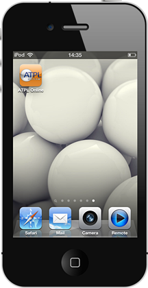 ATPL Online on the iPhone - start new session